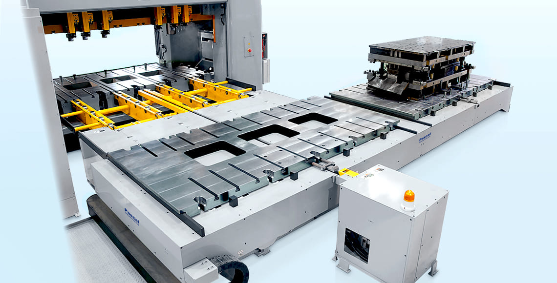 12,000kN press  Die 12ton × 2dies  Die changer, roller table, swing roller|Pusher type|