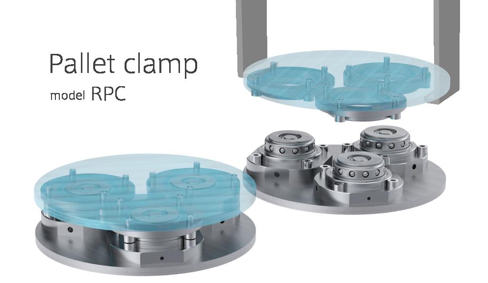 位置決め固定デバイス パレットクランプRPC 使用例
